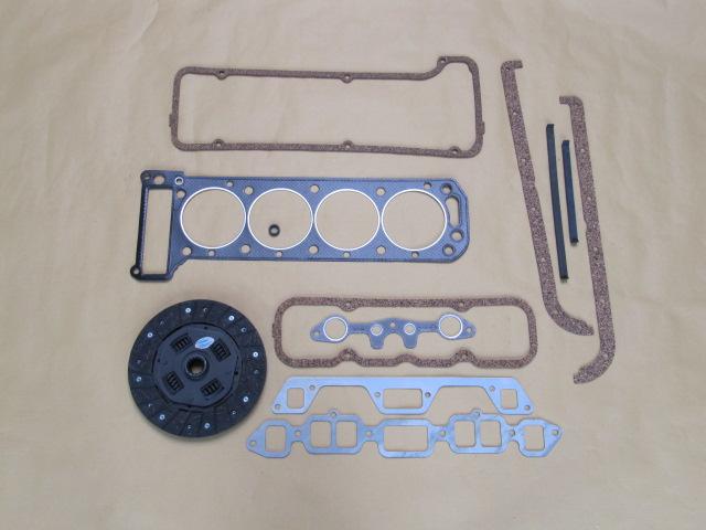 Motor, Kupplung und Zündung