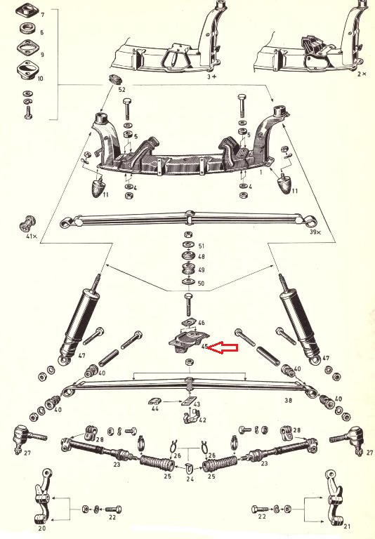blattfederlagerplatte gt 1100 1900 o t r opel ersatzteile. Black Bedroom Furniture Sets. Home Design Ideas